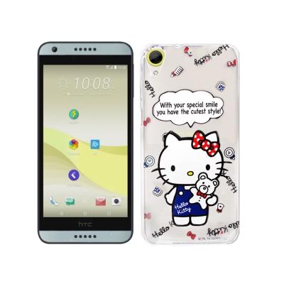Hello Kitty貓 HTC Desire 650/530/626 手機殼(公仔)