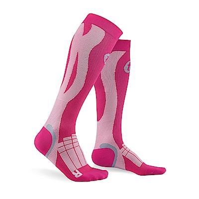 【Titan】太肯壓力運動襪 Elite_桃紅/粉紅(適合慢跑、自行車、球類運動)