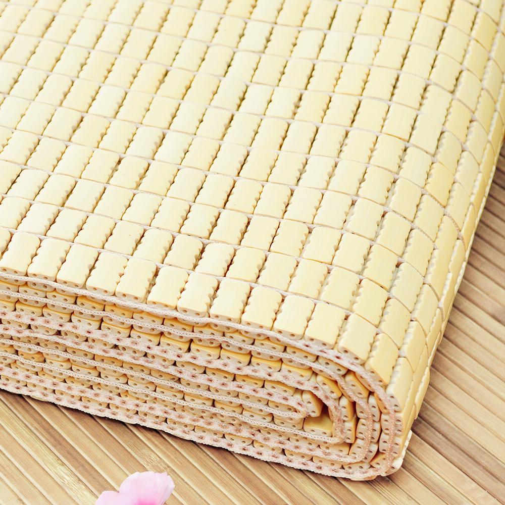 亞曼達Amanda 專利棉織帶天然麻將竹蓆-雙人加大6尺