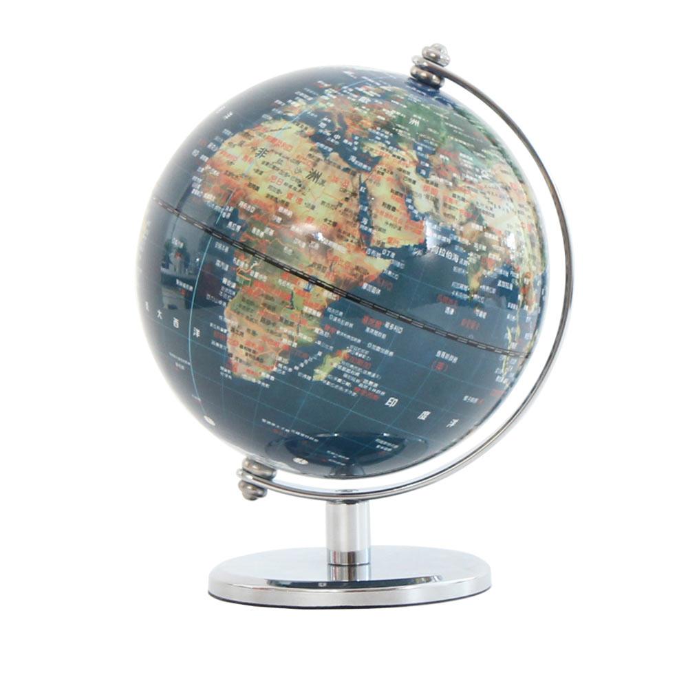 SkyGlobe 5吋衛星亮面金屬手臂地球儀中文版