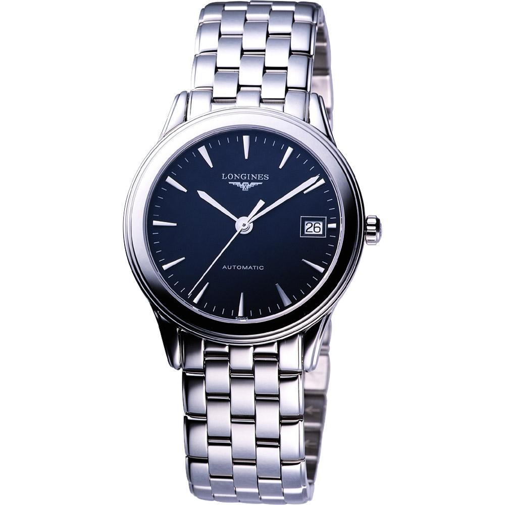 LONGINES Flagship 經典機械腕錶(黑)
