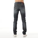 Lee牛仔褲 706 低腰合身破壞窄管-男款-懷舊中藍