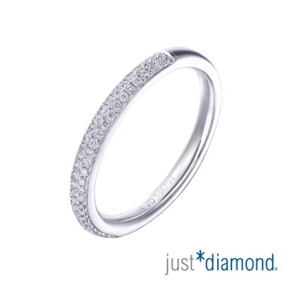 Just Diamond 18K金鑽石戒指-朵漾