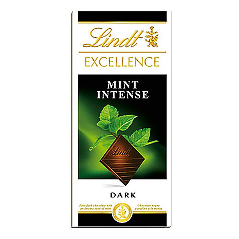 瑞士蓮LINDT 極醇系列薄荷巧克力片(100g)