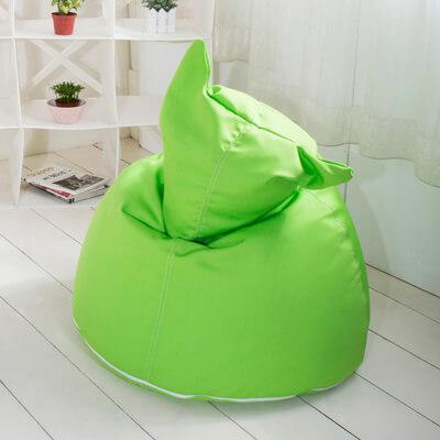 椅的世界 喵喵造型 懶骨頭 亮綠