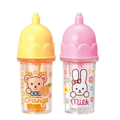 小美樂娃娃配件-橘子汁及牛奶瓶-小-2016