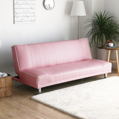 H&D 貝思厚實亮麗沙發床