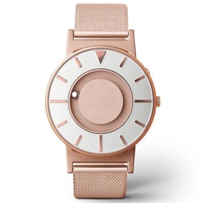 EONE 美國設計品牌 Bradley 觸感腕錶 金色系列- 典雅玫瑰金/40mm