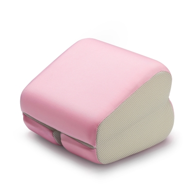 【GreySa 格蕾莎】 折疊式午睡枕嫩粉紅