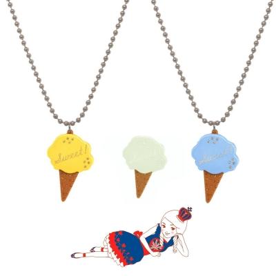 Anna Lou Of London倫敦品牌 Sweet立體蛋捲冰淇淋項鍊