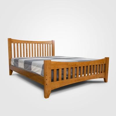 日木家居 Anthea亞西亞雙人5尺實木床台/床架