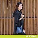 MIRYOKU 質感斜紋系列 / 經典鏈帶迷你水桶包(共4色)