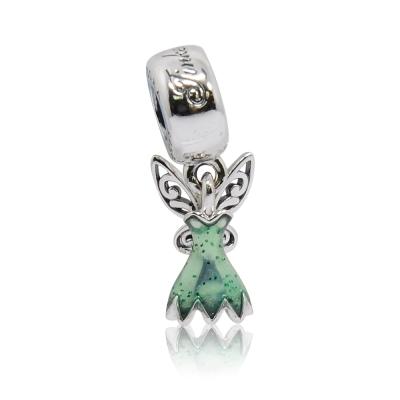 Pandora 潘朵拉  迪士尼系列奇妙仙子琺瑯 純銀墜飾 串珠