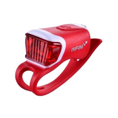 INFINI ORCA I-204R 鯨魚USB充電式紅光警示燈 紅