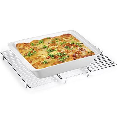TESCOMA 折疊不鏽鋼蛋糕散熱架(46cm)