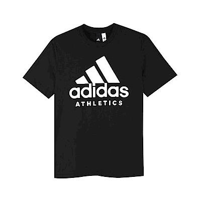 Adidas 男 SID BRANDED TEE 圓領T(短