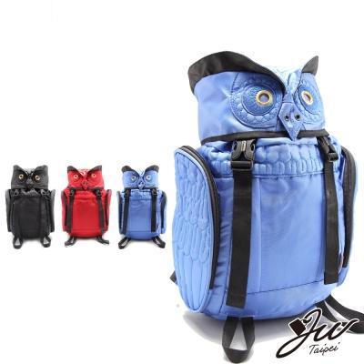 JW-後背包-叢林野戰貓頭鷹造型後背包-小版-共三