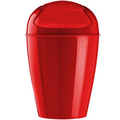 KOZIOL 搖擺蓋垃圾桶(紅XXS)