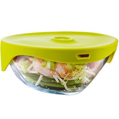 TK 玻璃蒸煮盒(綠0.5L)