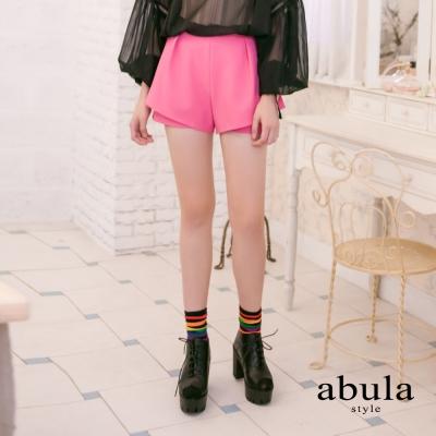 abula-style-日系甜美風中腰女人味短褲-粉色