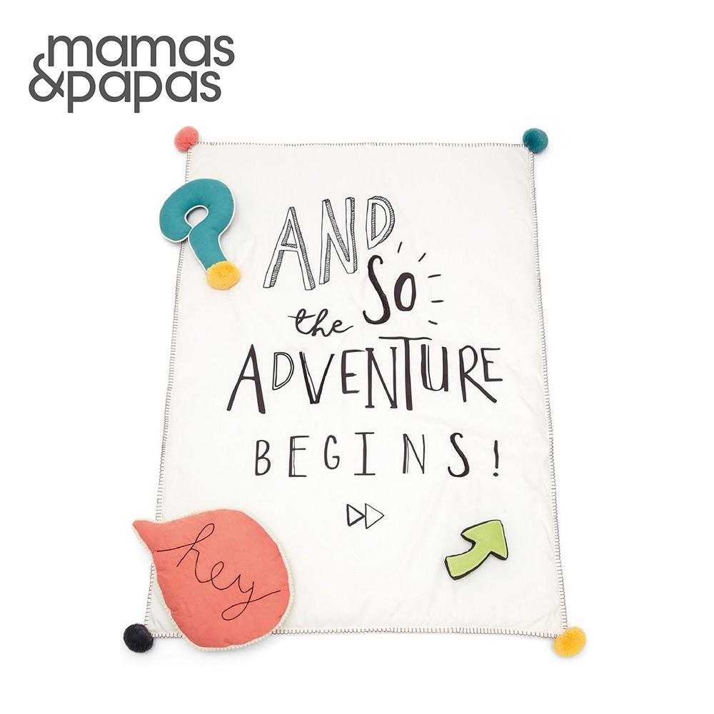 Mamas&Papas 時光探長(雙面地墊附造型枕)
