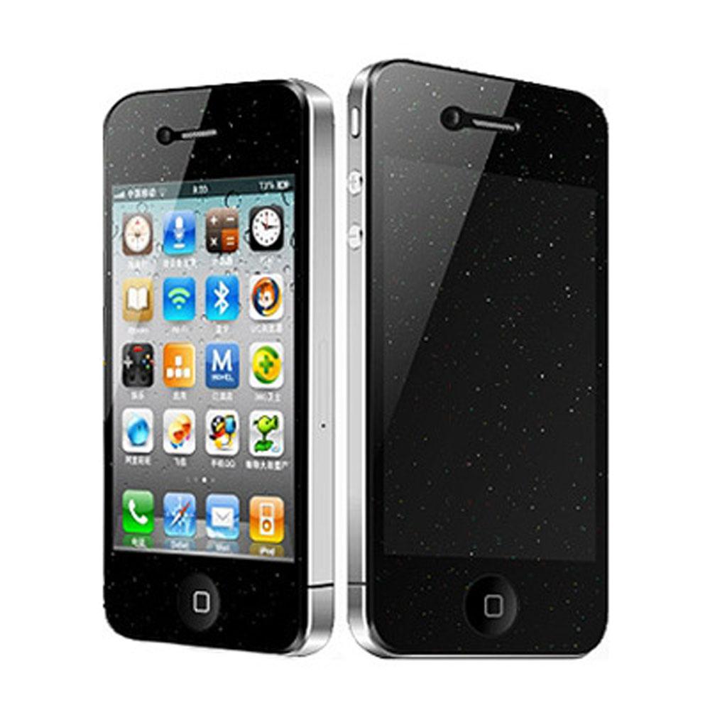 Bravo-u iPhone 4/4S 日本進口璀璨鑽石保護貼