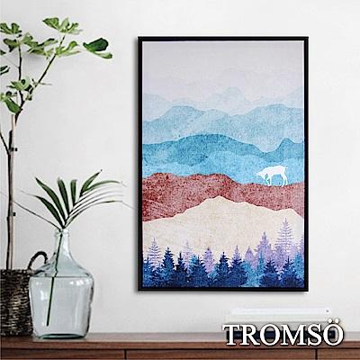 TROMSO北歐時代風尚有框畫-麋鹿山境A40*60cm