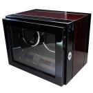 自動機械錶收藏盒/自動上鍊盒2只/鋼琴烤漆雙色款/自動21/ LED燈/日本馬達