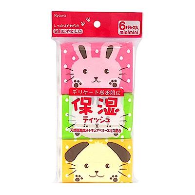 WAVA 日本KYOWA保濕面紙6包