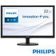 PHILIPS 223V5LSB2 22型LED寬電腦螢幕 product thumbnail 1