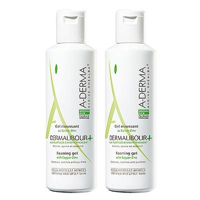 A-DERMA艾芙美 燕麥新葉全效保護潔膚凝膠250ml(2入優惠即期良品)