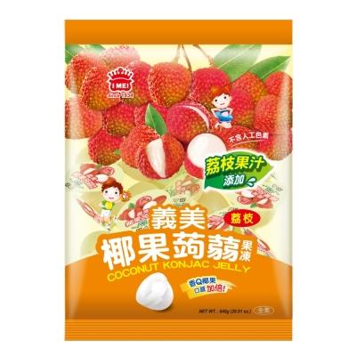 義美 椰果蒟蒻果凍-荔枝(848g)