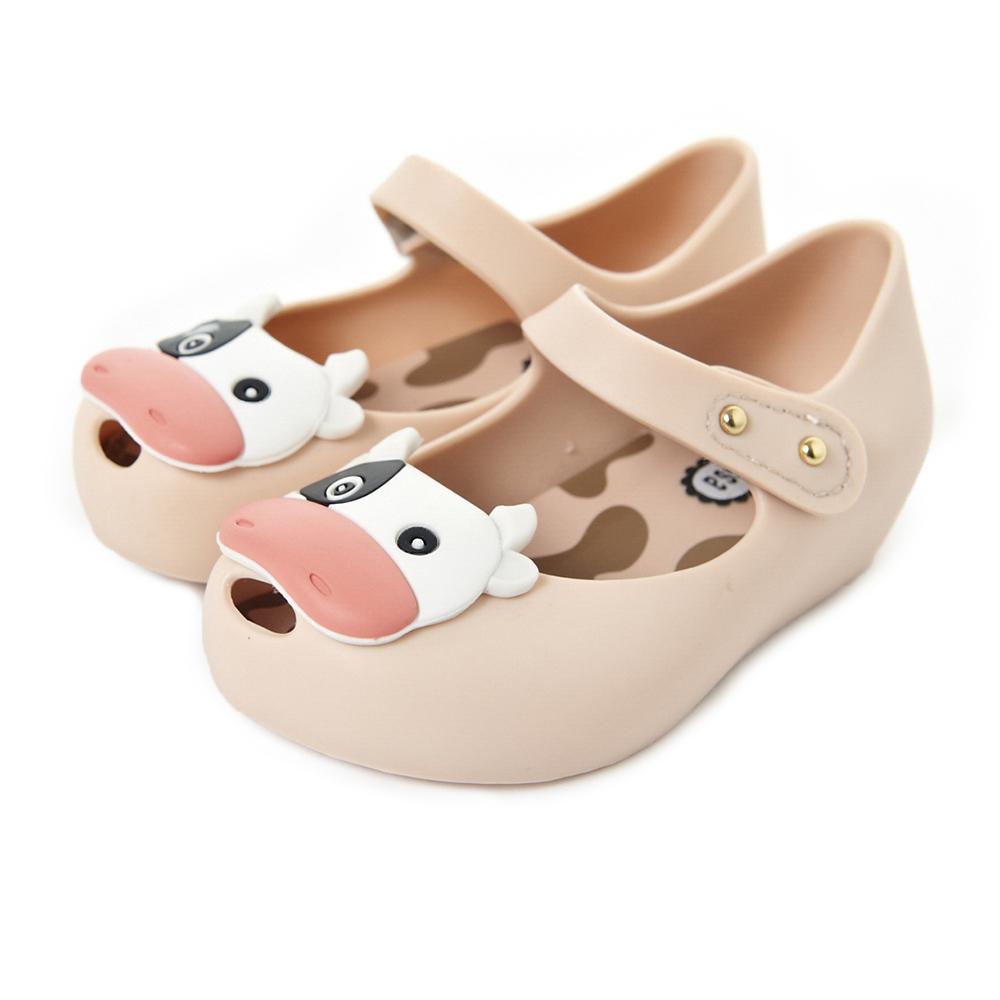MINI MELISSA可愛乳牛童鞋-粉