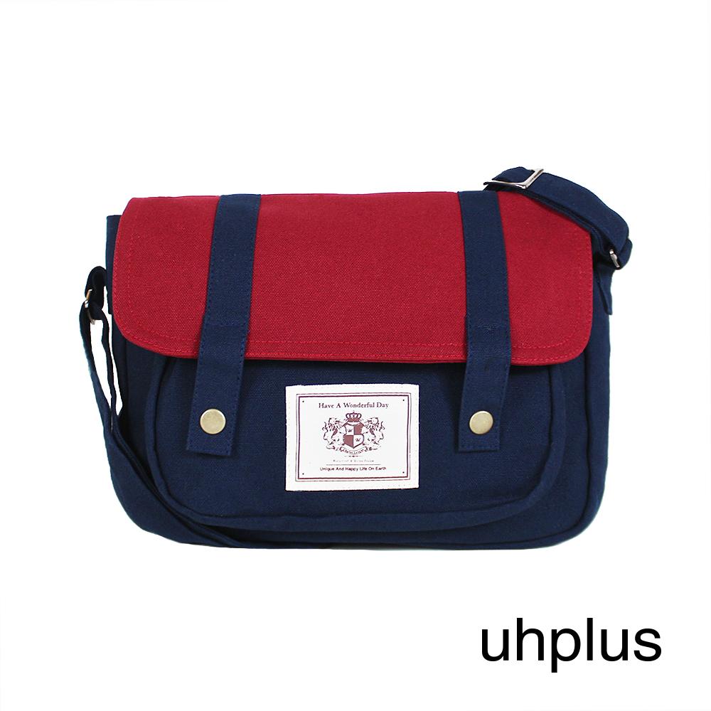 uhplus College Wonderful Day -學院劍橋包(Blue)