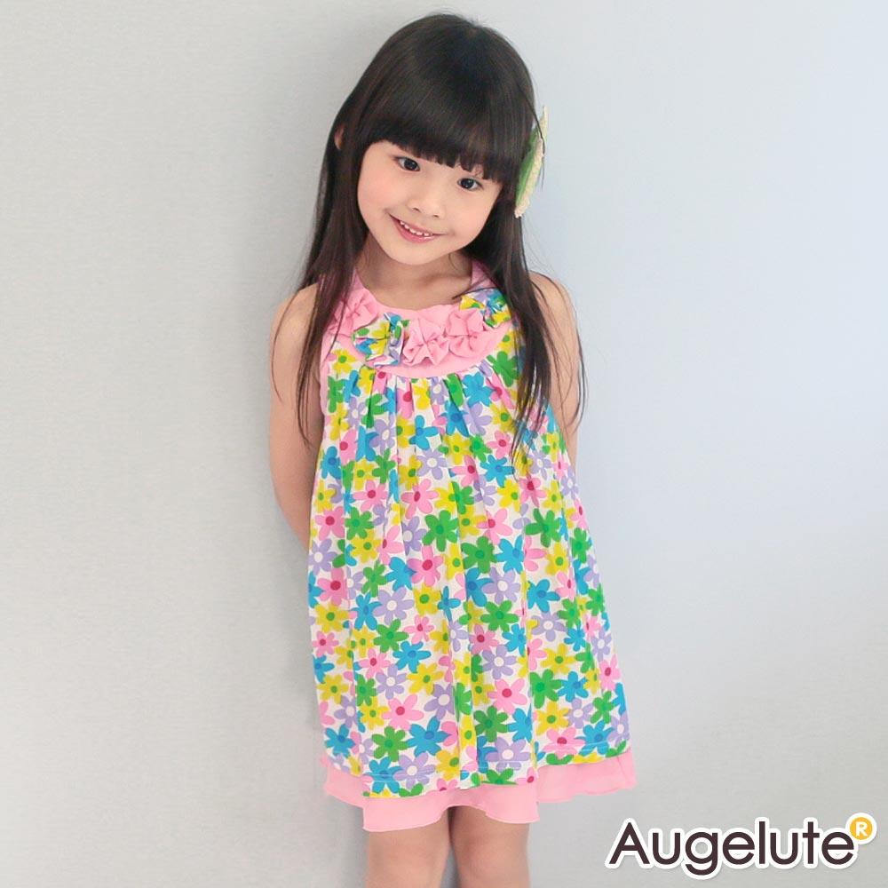 baby童衣 洋裝 漂亮花朵連身裙 42163