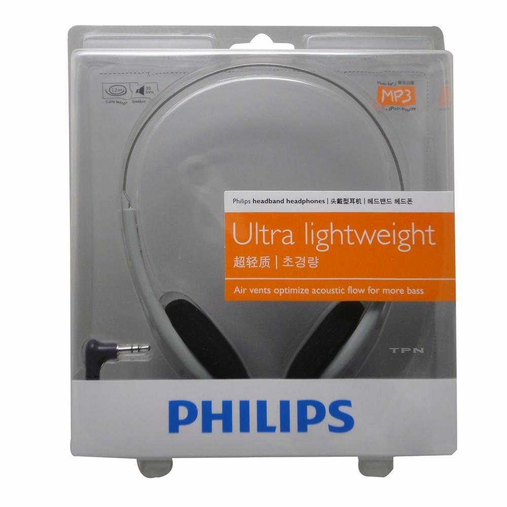 PHILIPS頭戴式輕量型耳機HL140