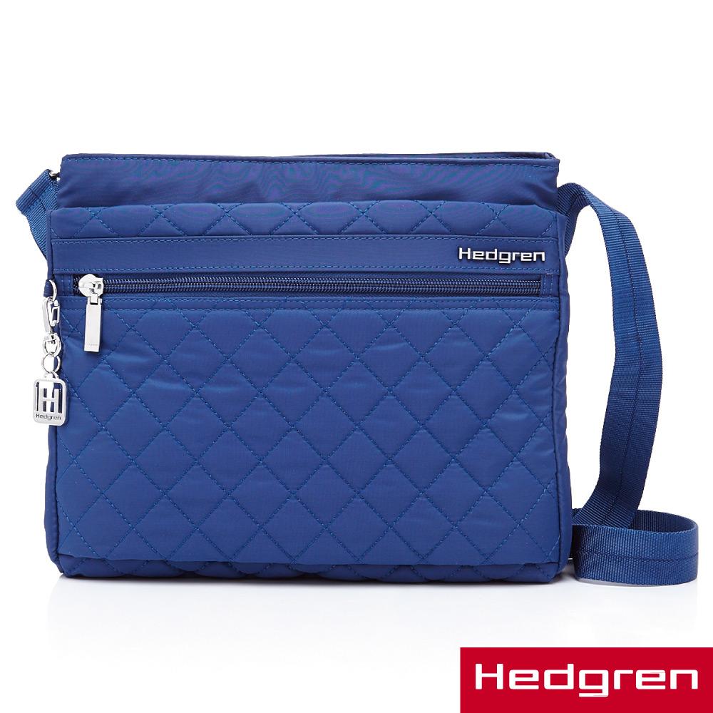 HEDGREN -HDIT -Diamond 鑽石系列-多夾層側背包-藍色