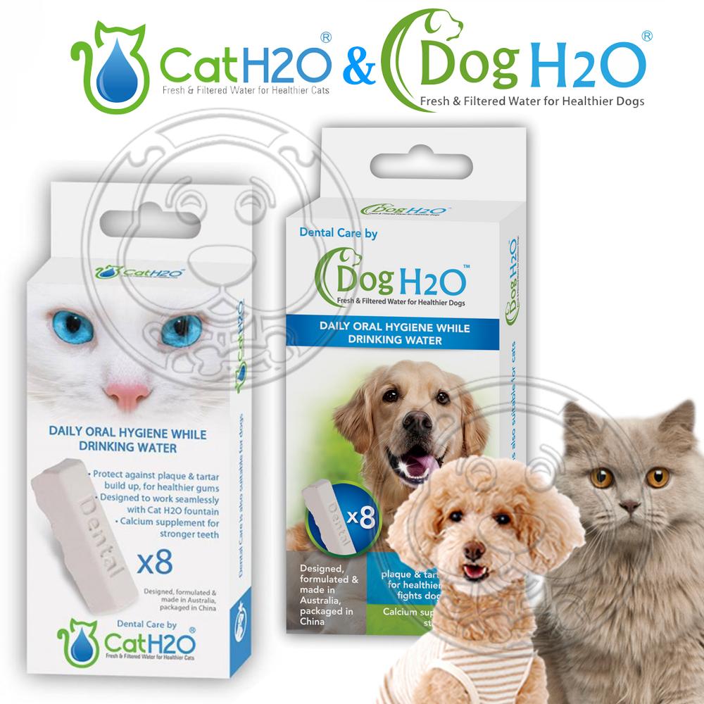 Dog&Cat H2O有氧濾水機狗貓-潔牙錠-8P