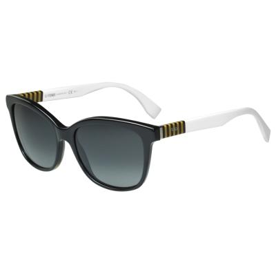 FENDI 時尚造型太陽眼鏡 (黑色)FF0054S