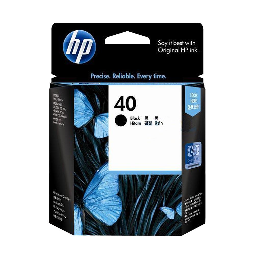 HP 51640AA NO.40原廠黑色墨匣
