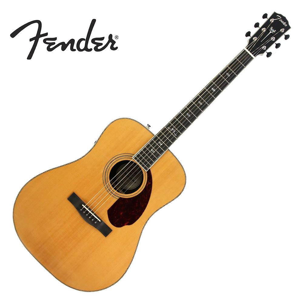 FENDER PM1 DLX 全單板電木吉他 原木色