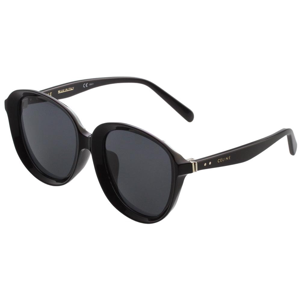 CELINE-復古內凹 太陽眼鏡 (黑色)CL41453