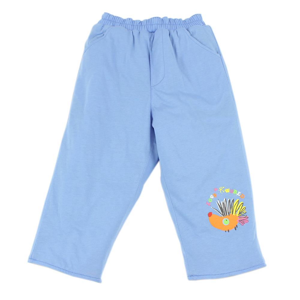 愛的世界 MYBEAR 兩面穿森林畫家純棉舖棉長褲/4~6歲