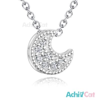 AchiCat 925純銀項鍊 月亮神話 鎖骨鍊