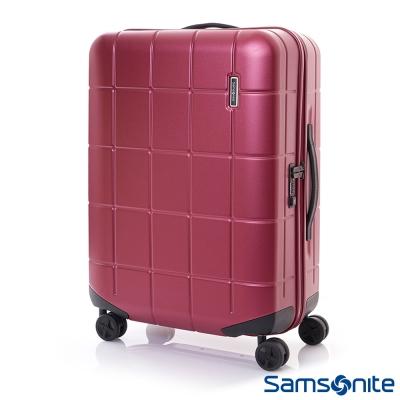 Samsonite新秀麗 28吋Tileum霧面防刮飛機輪硬殼TSA行李箱(紅)