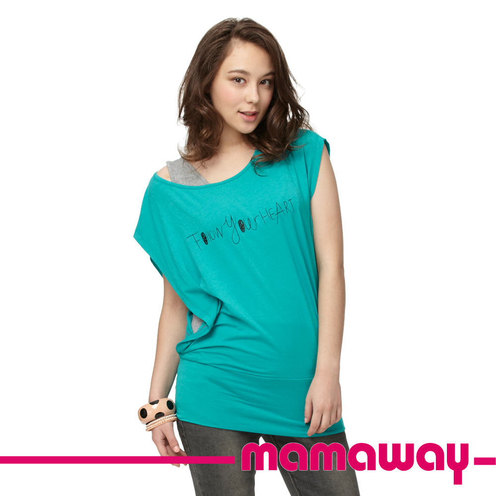 【Mamaway】隨心所欲孕哺上衣(共三色)