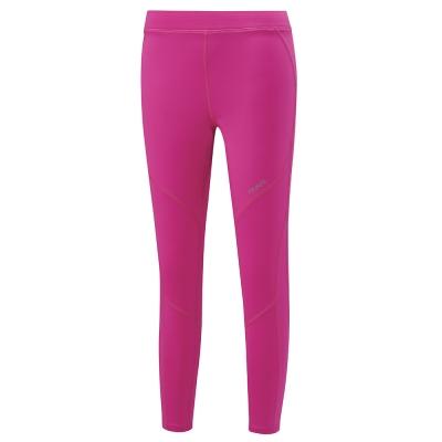 【ATUNAS 歐都納】女款運動透氣舒適合身彈性長跑褲 A1-PA1722W 桃紅
