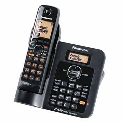 Panasonic 2.4GHz KX-TG3811超高頻數位式無線電話
