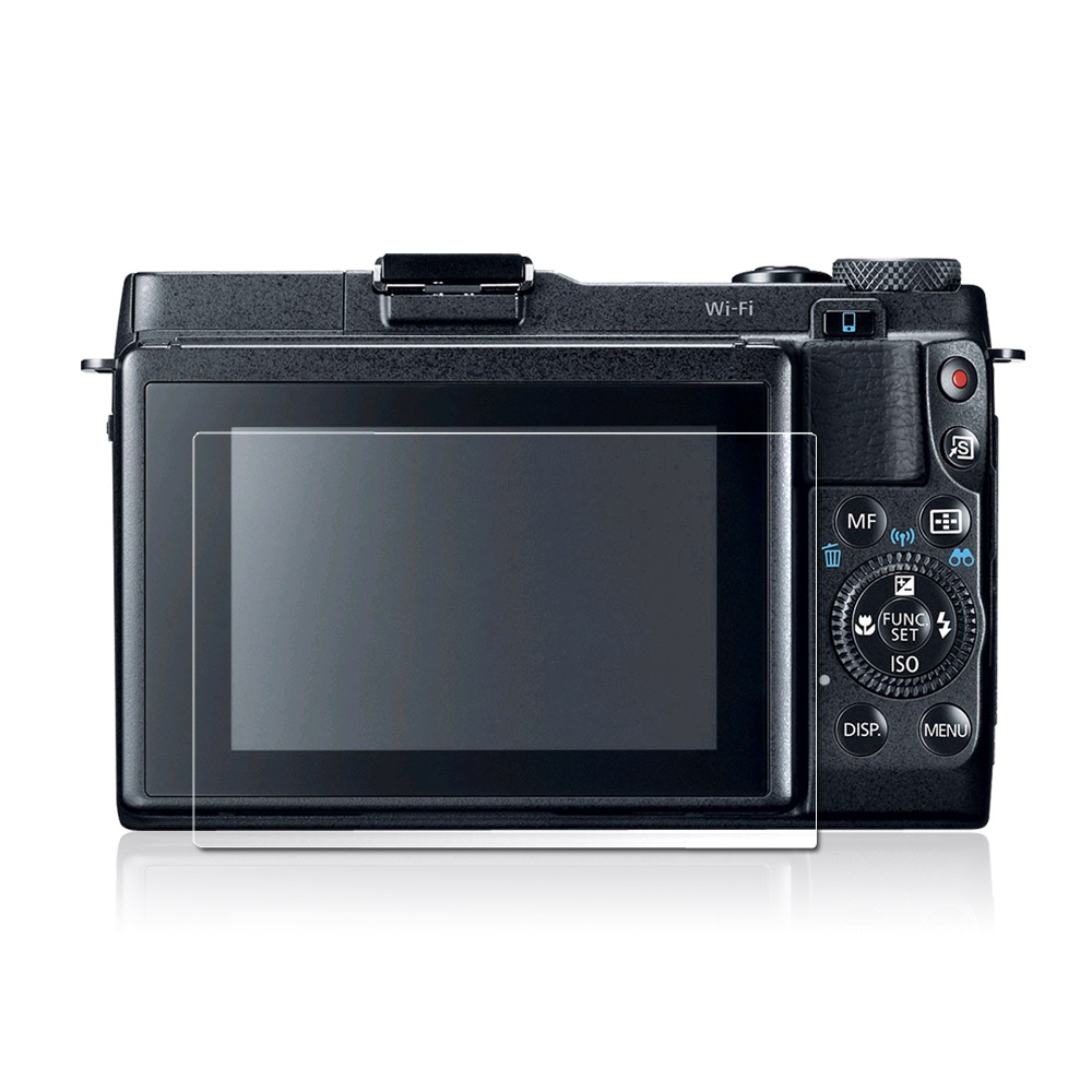 Kamera 高透保護貼 for Canon EOS M3/M10/G1X Mark II