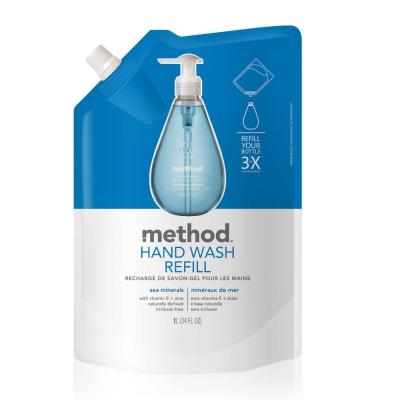 Method 美則 海藍礦物天然洗手乳(補充包) 1000ml